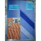 Bright Blue Printed Duvet Cover Set King Size €13.95 only